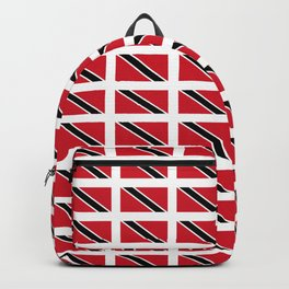 flag of trinidad and Tobago -Trinidad,Tobago,Trinidadian,Tobagonian,Trini,Chaguanas. Backpack