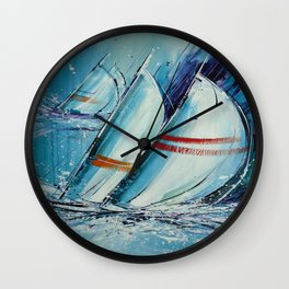 Setting Sail Wall Clock
