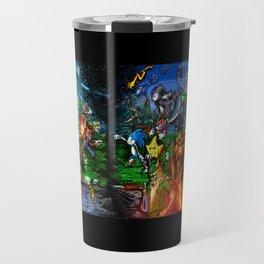 Nintendo Vs Sega Travel Mug