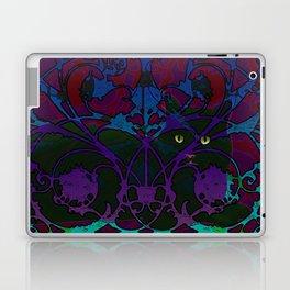 Art Nouveau Visible Cat Laptop & iPad Skin