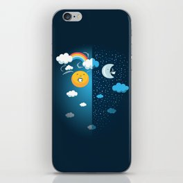 Night and Day iPhone Skin