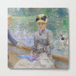 Summer's Day by Berthe Morisot Metal Print