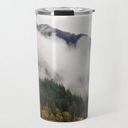 Fog in Olympic National Park Travel Mug