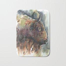 Bison. Bath Mat