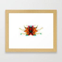 Flor de Loto Framed Art Print