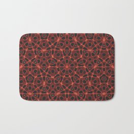 Blood Mandala Bath Mat