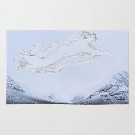 Spirit of the glen - glen Etive Scottish Highlands Rug