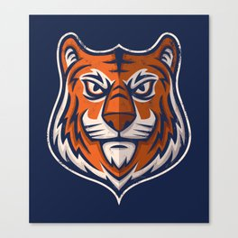 Tiger Shield Canvas Print