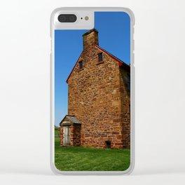 Stonehouse Manassas Battlefield Clear iPhone Case