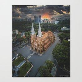 Notre-Dame Cathedral Basilica of Saigon Canvas Print