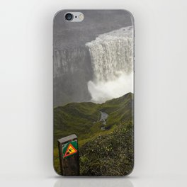 Dettifoss Waterfall in Iceland (1) iPhone Skin