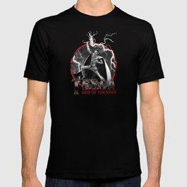 Tesla: God of Thunder T-shirt