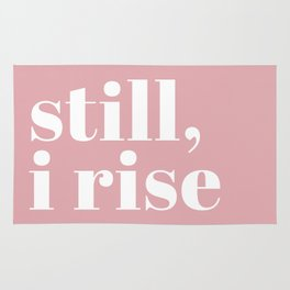 still I rise VIII Rug