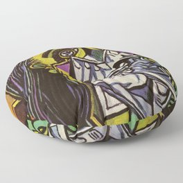 THE WEEPING WOMAN - PICASSO Floor Pillow