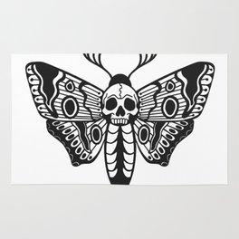 Death Moth Rug
