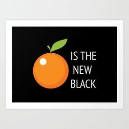 The New Black Art Print