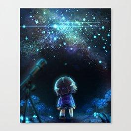Starry (Night) Undertale Canvas Print