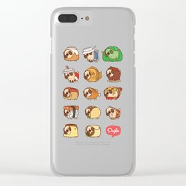 Puglie Food Collection 1 Clear iPhone Case