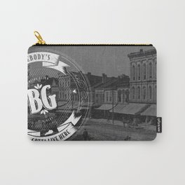 SOMEBODY'S GOTTA LIVE HERE - CREST Carry-All Pouch