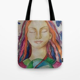 Hold Up the World Tote Bag