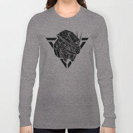 Gundam NU RX93 Black Long Sleeve T-shirt