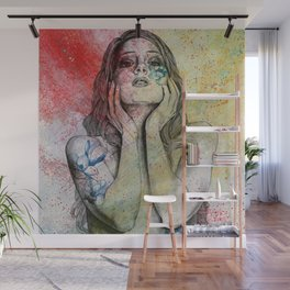 The Withering Spring II Wall Mural