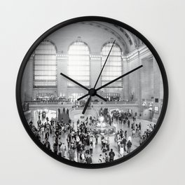 A Moment In Time Wall Clock