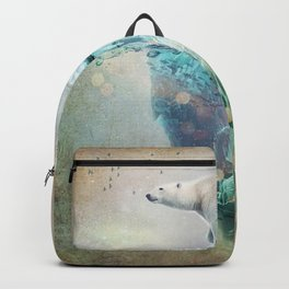 Polar Bear Adrift Backpack
