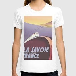 Savoy France train poster T-shirt