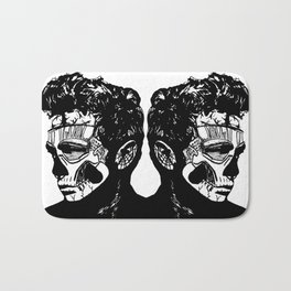 James Dean. Rebel: Zombie. Bath Mat