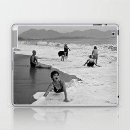 Bathing Woman in Vietnam - analog Laptop & iPad Skin