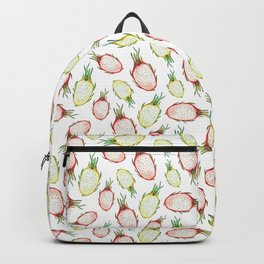 Pitaya. Watercolor Backpack