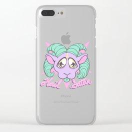 Hail Satan Clear iPhone Case