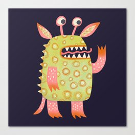 Monster Rufus Canvas Print