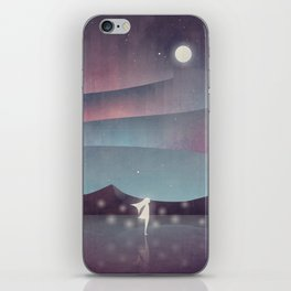 Descendant Of The Northern Lights iPhone Skin