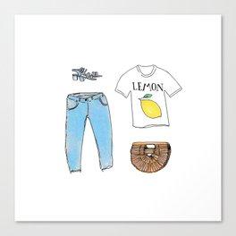 summer kit Canvas Print