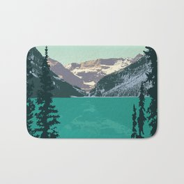 Lake Louise Bath Mat