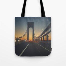 Sunset highway Tote Bag