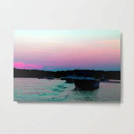 A good day for a boat ride Metal Print