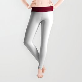 Florida Gold and Garnet with State Capital Typography Leggings