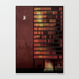 Seagram  tower Canvas Print