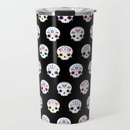 Cute sugar skulls B Travel Mug