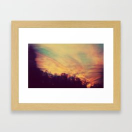 Sky Ink Framed Art Print