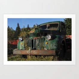 Bottle Depot Truck Art Print