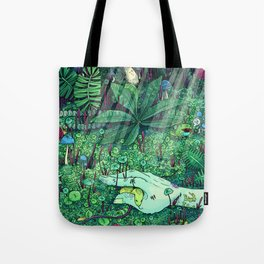 Death and Consequence Tote Bag