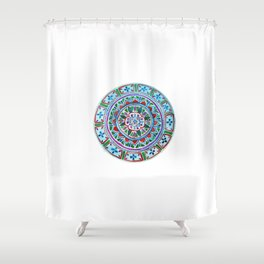 Complex, Imperfect Love Shower Curtain