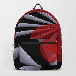 red white black -19- Backpack