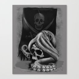 Pirate Tentacle Canvas Print