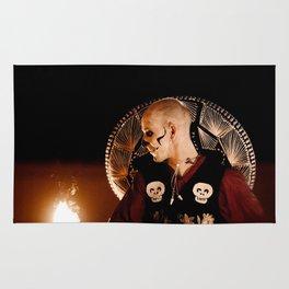 Mariachi And Fire - Dia De Los Muertos Rug
