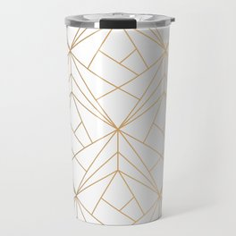 Polygonal Pattern Travel Mug